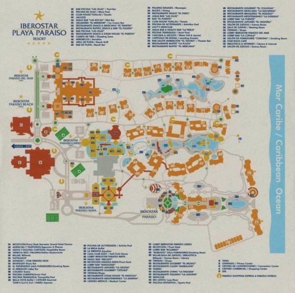 Iberostar Grand Hotel Paraiso Resort Map